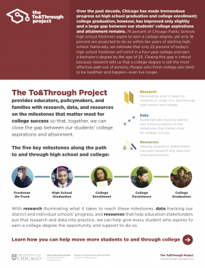 The To&Through Project Overview