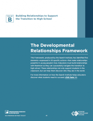 Developmental relationships cover image