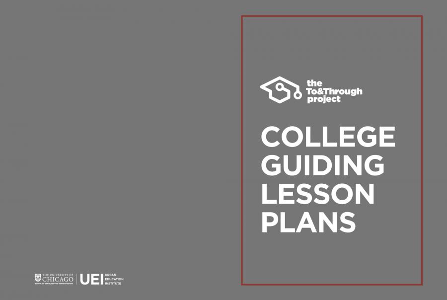 College Guiding Lesson Plans
